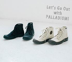 PALLADIUMと出かけよう!ネ・ネット別注新作スニーカー発売