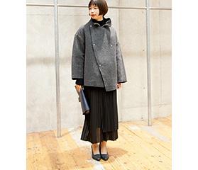 ZUCCa / Reversible Wool Coat