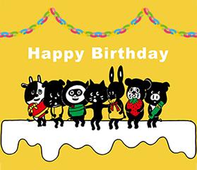Happy Birthday にゃー