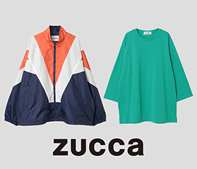 ZUCCa LIMITED ITEMS 発売